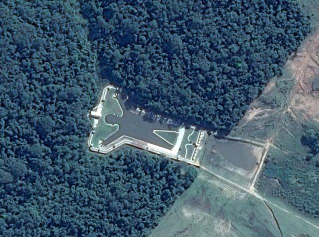 Удивительные снимки, которые можно увидеть на Google Maps 6