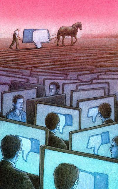 Павел Кучински (Pawel Kuczynski) и его карикатуры о современном обществе 1