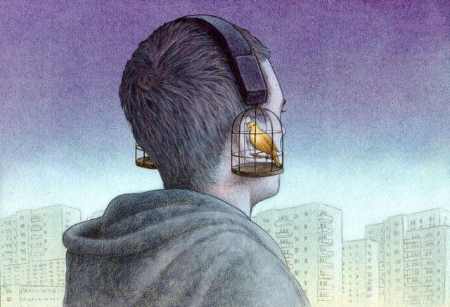 Павел Кучински (Pawel Kuczynski) и его карикатуры о современном обществе 3