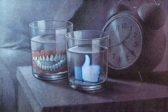Павел Кучински (Pawel Kuczynski) и его карикатуры о современном обществе 5