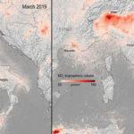 Снимки из космоса: как изменился воздух при пандемии коронавируса 5