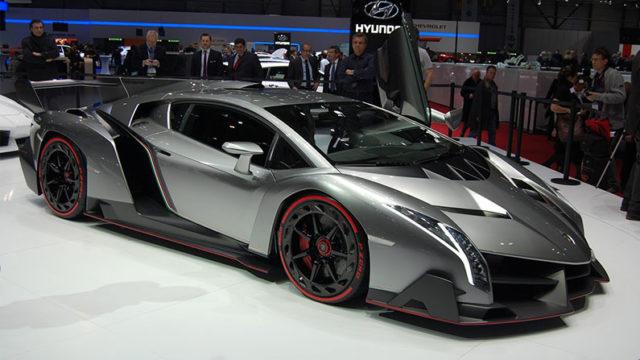 Lamborghini Veneno — $ 4,5 млн