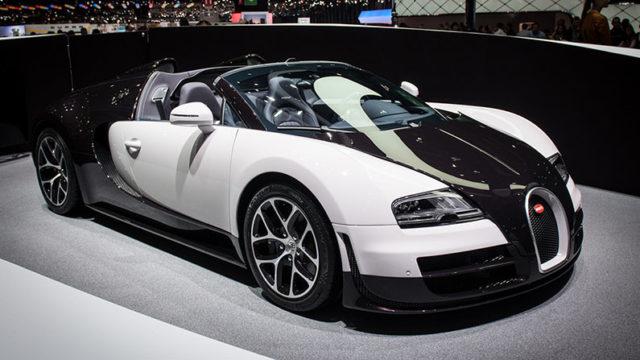 Bugatti Veyron — $ 3,3 млн.
