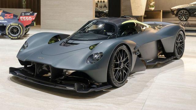 Aston Martin Valkyrie — $ 4,5 млн