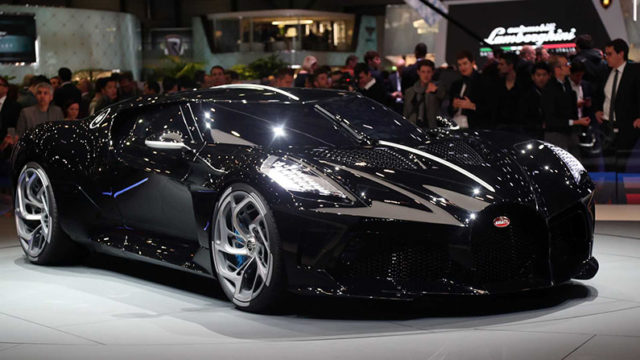 Bugatti La Voiture Noire – $ 18,7 млн