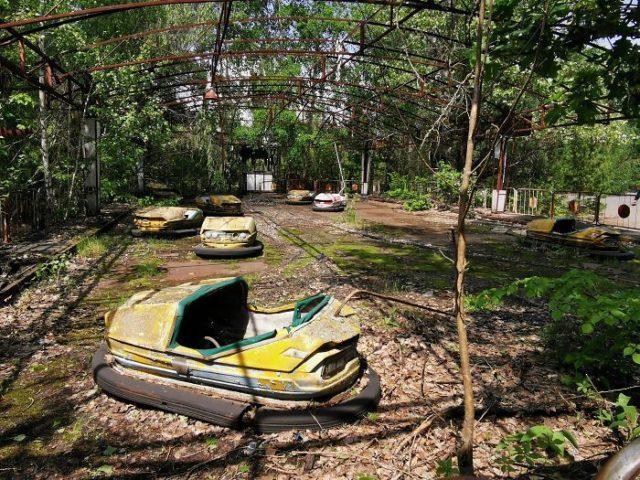 Фото Чернобыля сейчас - спустя больше 30 лет 4