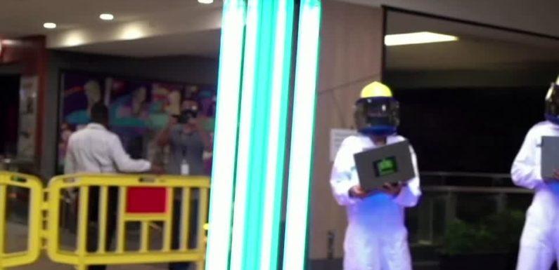 Сингапур создал робота, который поможет бороться с коронавирусом