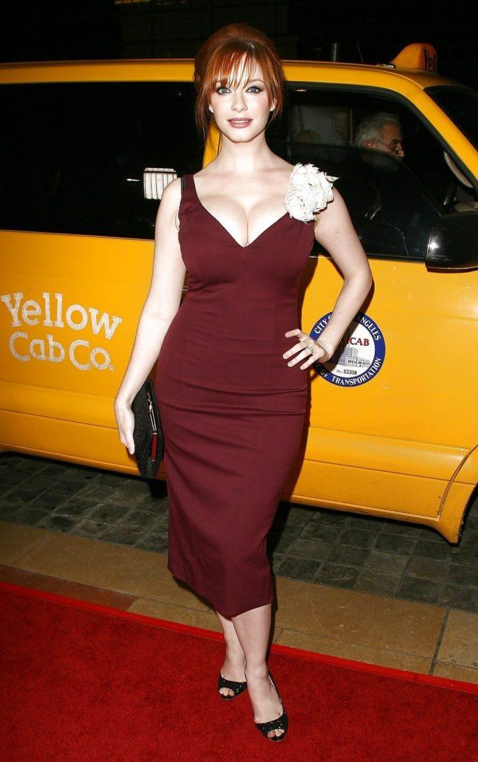 Кристина Хендрикс - одна из самых успешных актрис Plus Size - секреты успеха 2