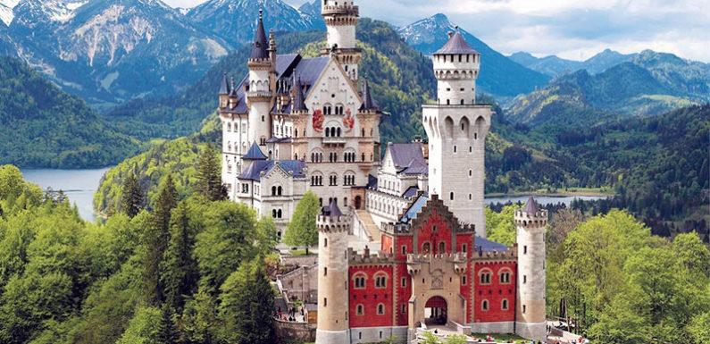 Самые красивые и самые древние замки в Мире
