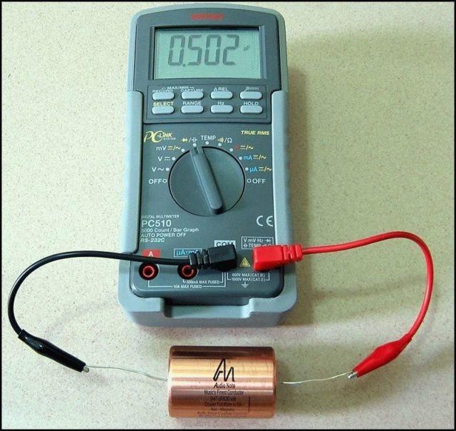 Измерение мультиметром 2