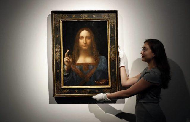 «Спаситель мира» - Леонардо да Винчи