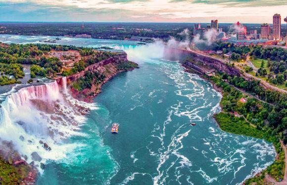Ниагарский водопад - самое красивое место США