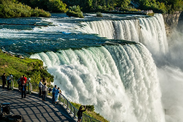 Ниагарский водопад - самое красивое место США 1