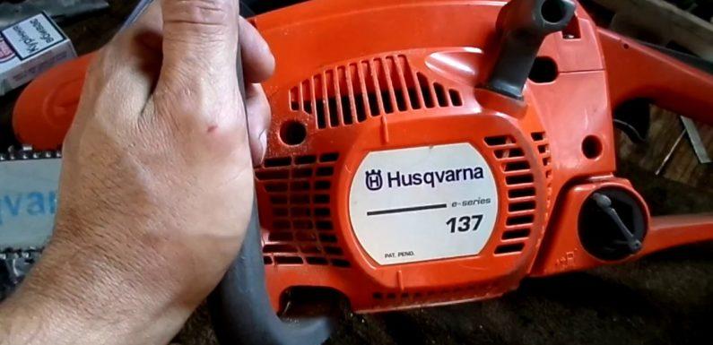 Регулировка карбюратора бензопилы Хускварна