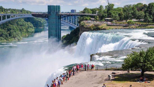 Ниагарский водопад - самое красивое место США 2