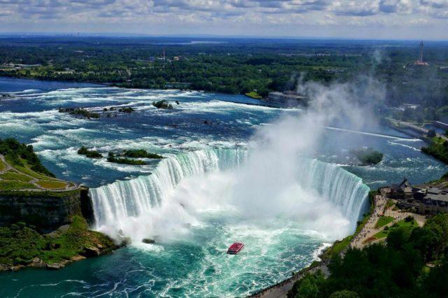 Ниагарский водопад2