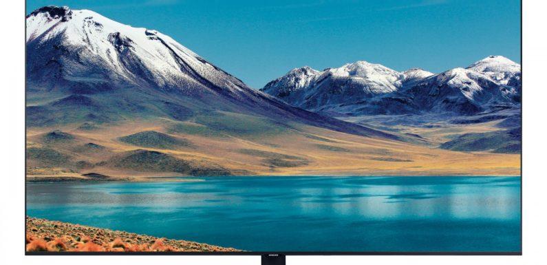 Обзор телевизора Samsung UE55TU8500