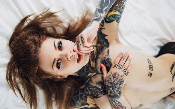 Фото девушек с татуировками - Шикарная подборка красоток с тату 1