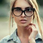 Красивые девушки блондинки в очках (фотоподборка) 25