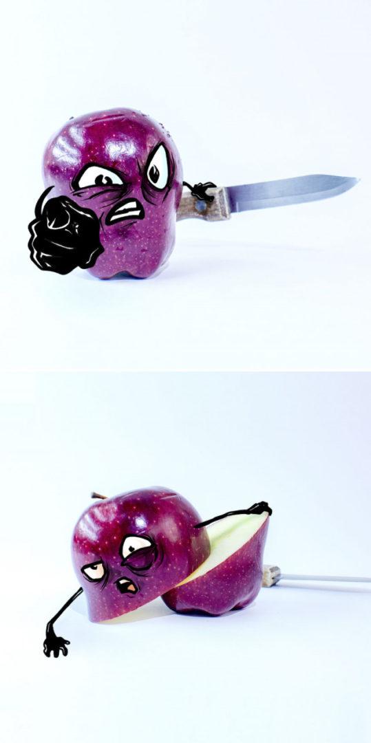Ожившие эмоциональные фрукты мексиканского художника Альберто Арни 2