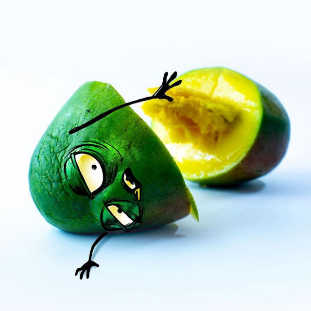 Ожившие эмоциональные фрукты мексиканского художника Альберто Арни 3