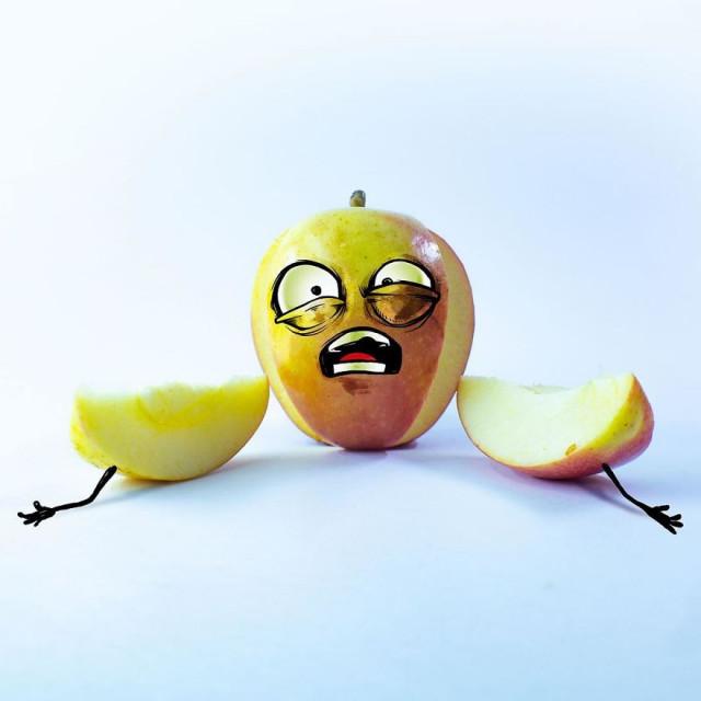 Ожившие эмоциональные фрукты мексиканского художника Альберто Арни 4