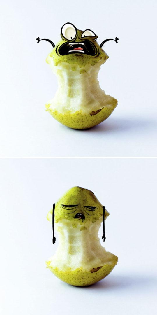 Ожившие эмоциональные фрукты мексиканского художника Альберто Арни 5
