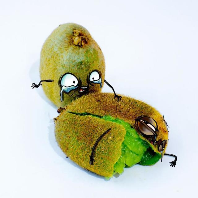 Ожившие эмоциональные фрукты мексиканского художника Альберто Арни 8