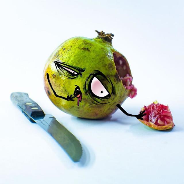 Ожившие эмоциональные фрукты мексиканского художника Альберто Арни 10