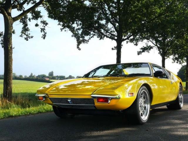 DeTomaso Pantera 1971 - фотографии одного из самых известных ретро-автомобилей 1