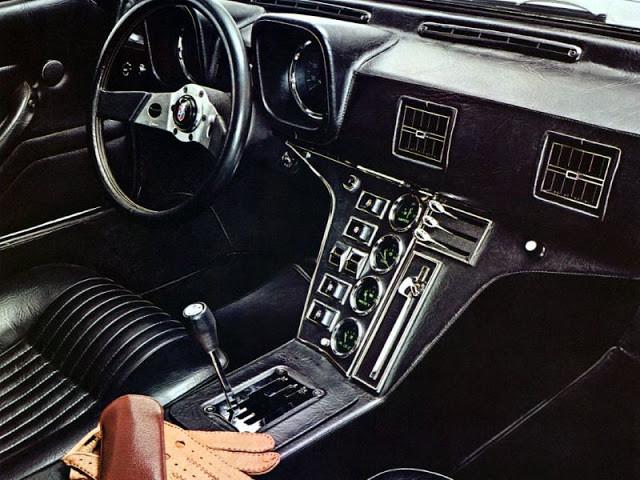 DeTomaso Pantera 1971 - фотографии одного из самых известных ретро-автомобилей 3