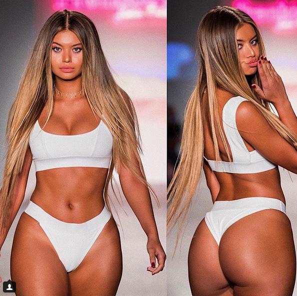 София Джамора (Sofia Jamora) - шикарная бикини-модель с формами (фото и видео) 7