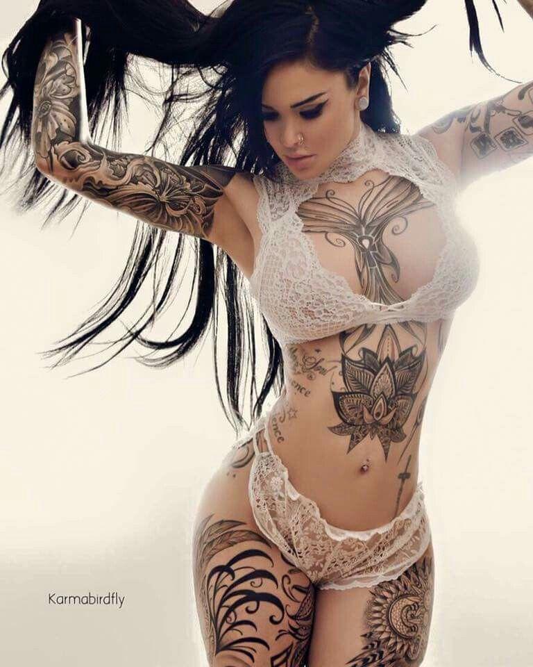 Фото девушек с татуировками - Шикарная подборка красоток с тату 6