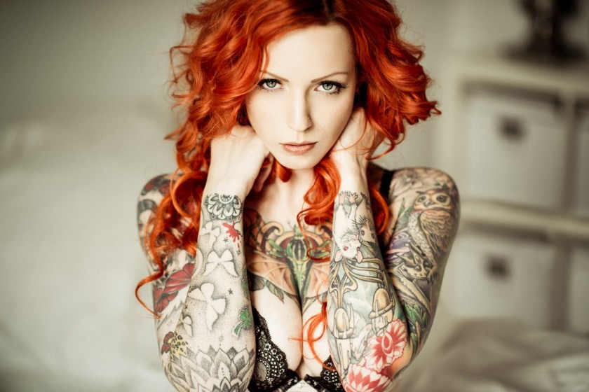 Фото девушек с татуировками - Шикарная подборка красоток с тату 7