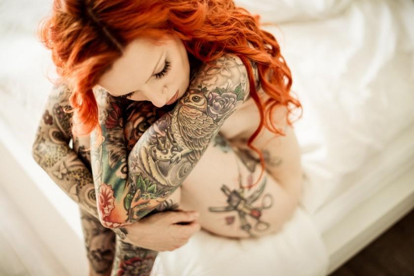 Фото девушек с татуировками - Шикарная подборка красоток с тату 8