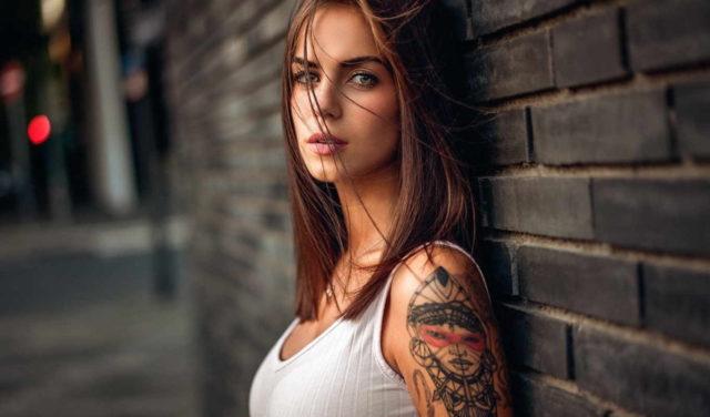 Фото девушек с татуировками - Шикарная подборка красоток с тату 5