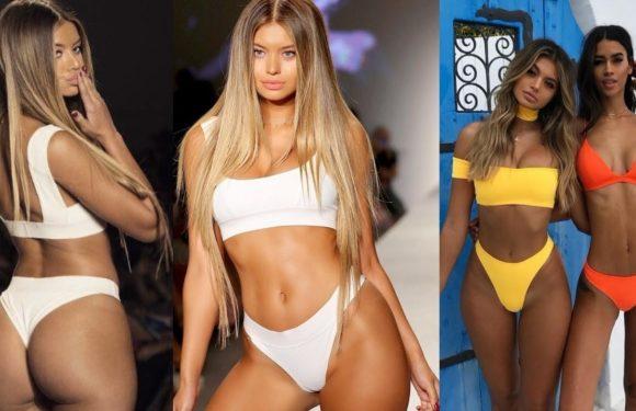 София Джамора (Sofia Jamora) - шикарная бикини-модель с формами (фото и видео)