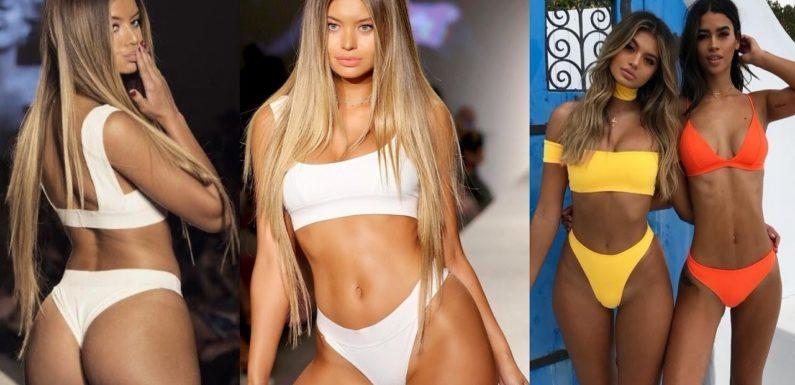 София Джамора (Sofia Jamora) – шикарная бикини-модель с формами (фото и видео)