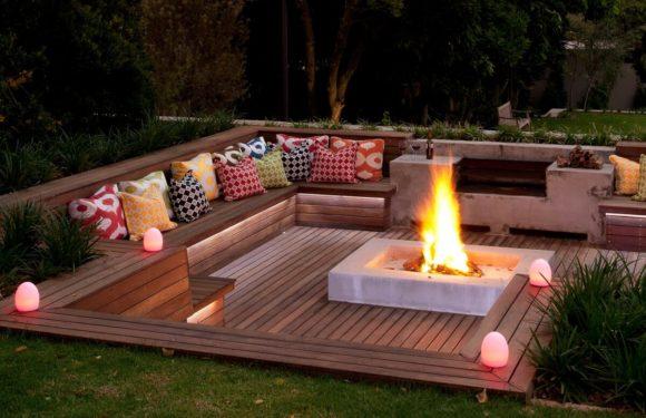 Вот как должно выглядеть место для отдыха