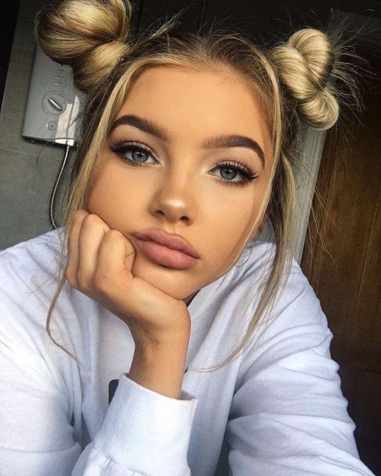 Фото селфи девушек - самые красивые лица (30 фото) 25