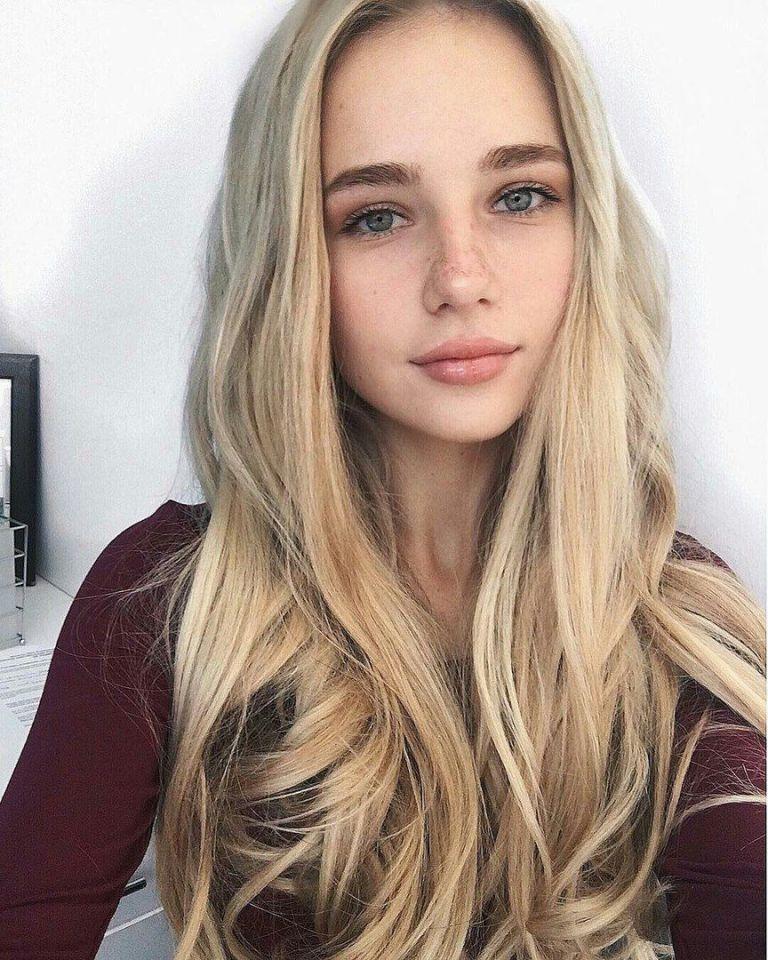 Фото селфи девушек - самые красивые лица (30 фото) 29