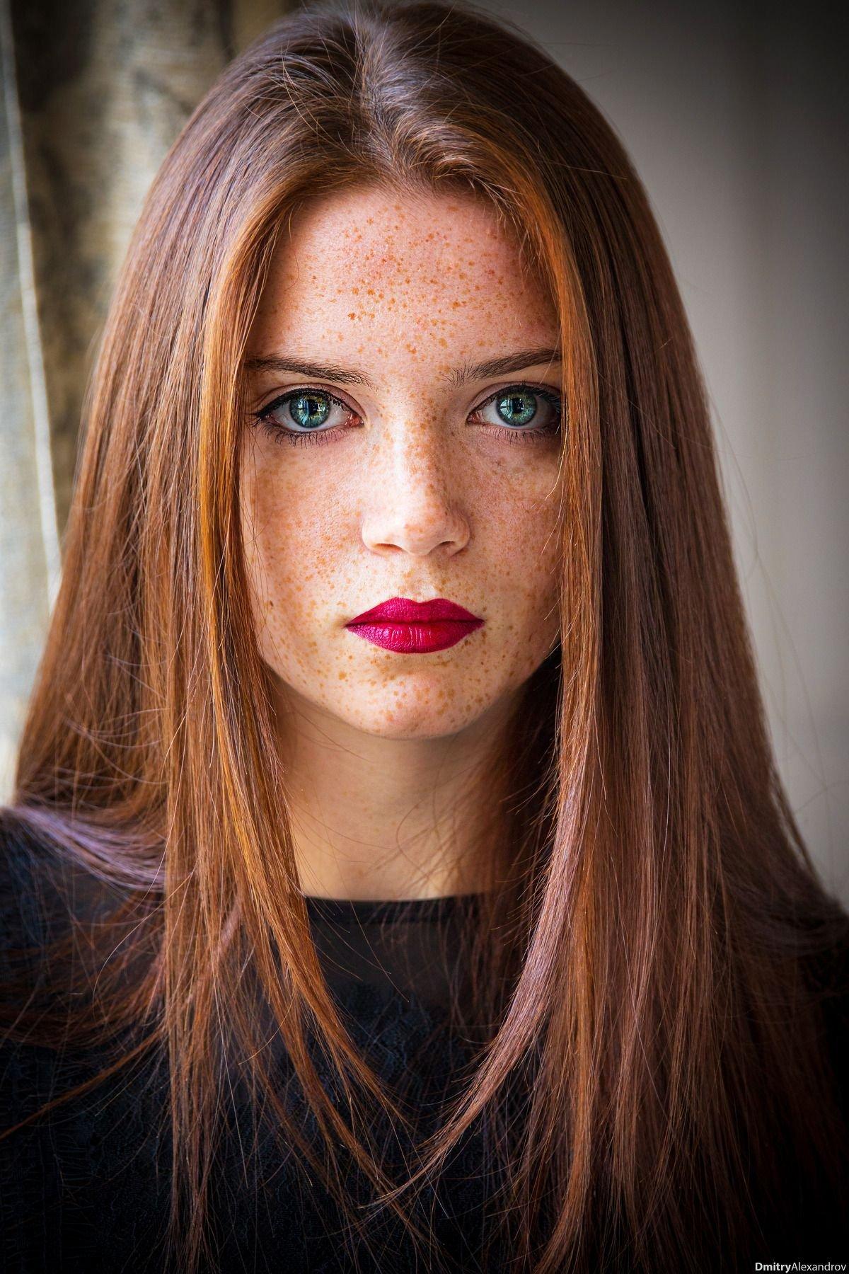 Фото рыжих девушек с зелеными глазами - просто волшебно... 8