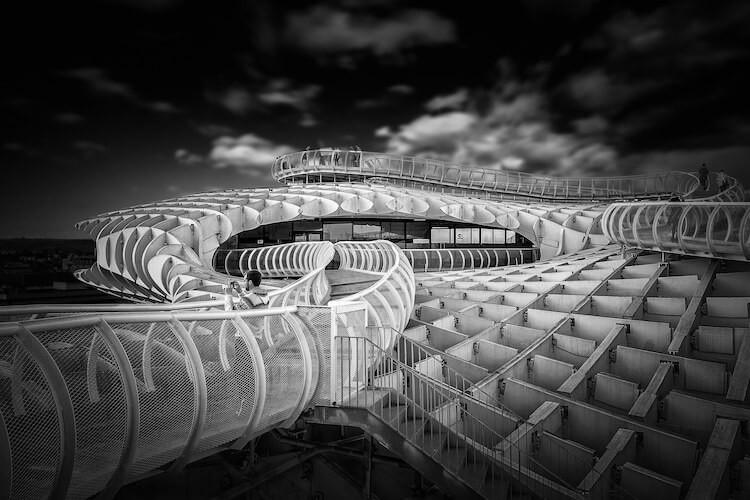 Черно-белые фото архитектуры от Алессио Форлано (Alessio Forlano): то, что не замечаем 1