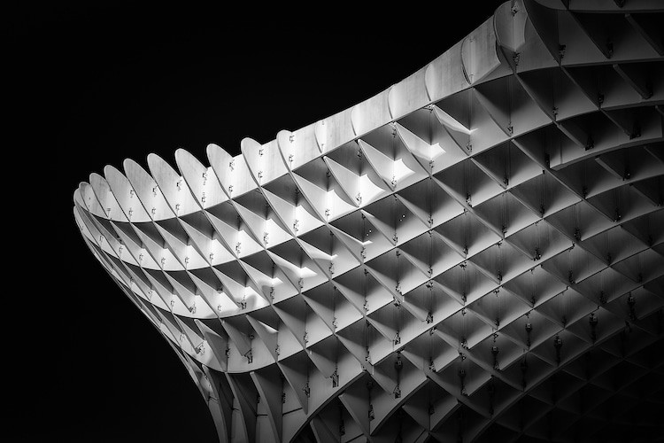 Черно-белые фото архитектуры от Алессио Форлано (Alessio Forlano): то, что не замечаем 6