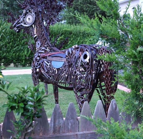 Майкл Вивона (Michael Vivona) и его потрясающие скульптуры их металла 3