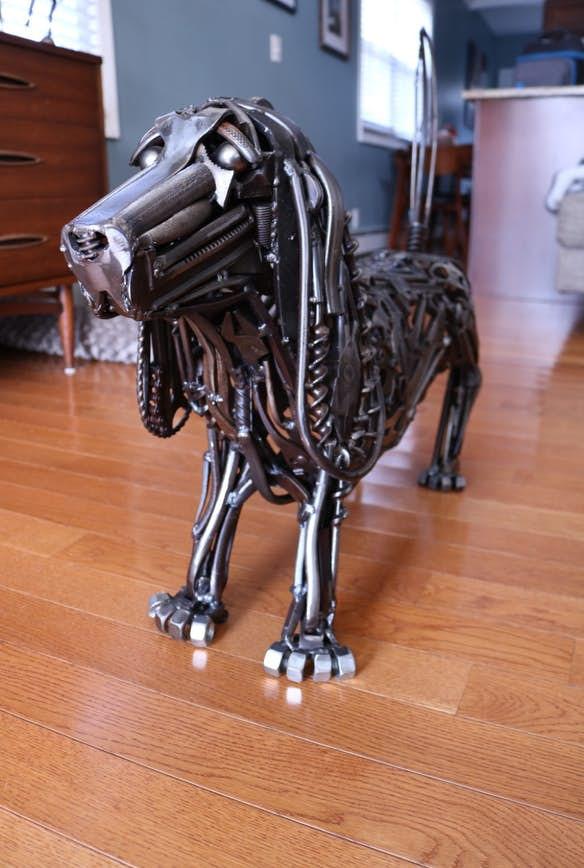 Майкл Вивона (Michael Vivona) и его потрясающие скульптуры их металла 4