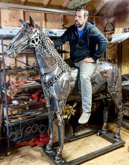 Майкл Вивона (Michael Vivona) и его потрясающие скульптуры их металла 5