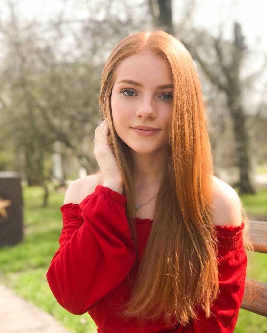 Самые красивые рыжие девушки инстаграма и других соц.сетей 5