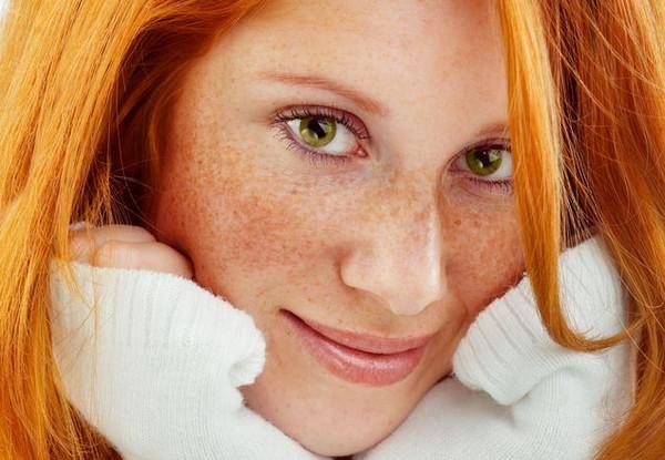 Фото рыжих девушек с зелеными глазами - просто волшебно... 1