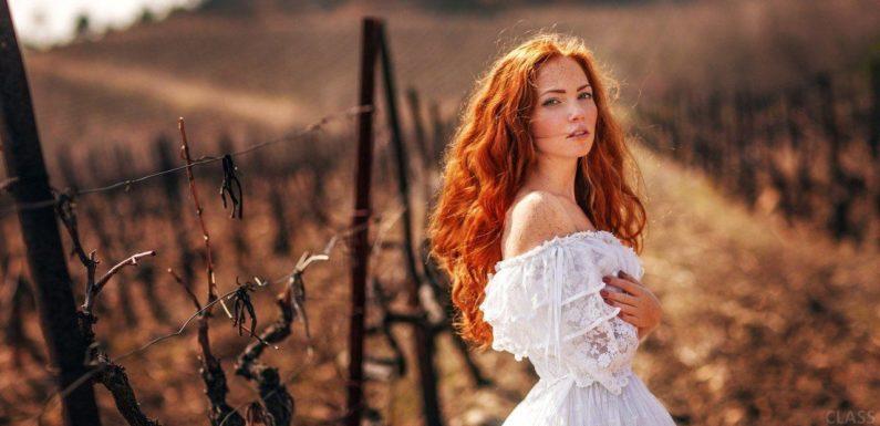 Рыжие девушки с кудрявыми волосами: фото ярких кудряшек